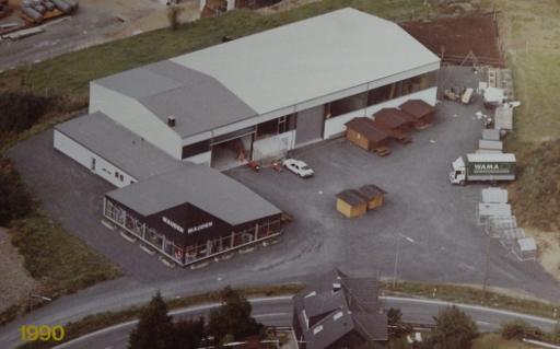 Gewächshaus, Firma Walter Mauden im Jahr 1990 Hochbeete, Unternehmen  - Stabil & Hochwertig