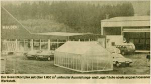 NeuerC3B6ffnung nach Umzug April 1989 300x168 - Unternehmensgeschichte