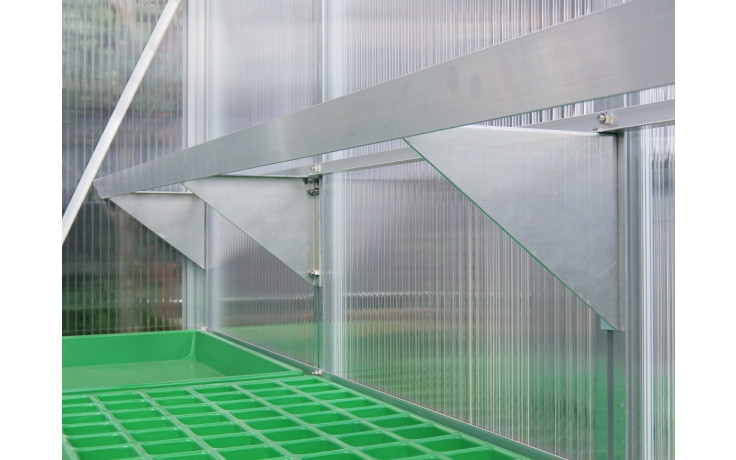 seitenwandregal tiefe 22cm 1 2 - Seitenwandregal TROPIC 22cm für Tropic-Gewächshäuser