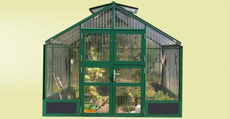 tropic 2 hochbeet 1 - WAMA Hochbeet-Gewächshaus Tropic 22 inkl. Hochbeet – 6.51m²