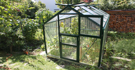 tropic 1 - WAMA Gewächshaus Tropic 14 – 10.45m² <br>(B: 255cm X L: 410cm)