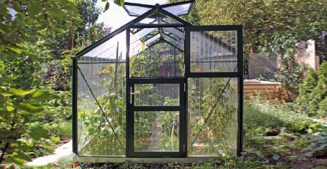 tropic 2 - WAMA Gewächshaus Tropic 14 – 10.45m² <br>(B: 255cm X L: 410cm)