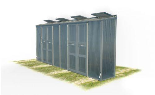 wama gewaechshaus pflanzenhaus freistehend 18 1 500x307 - WAMA Gewächshaus Freistehend-Tomatenhaus TH F 18 mit 2 Doppeltüren, 4.09m² <br> (B: 84cm X L: 505cm)