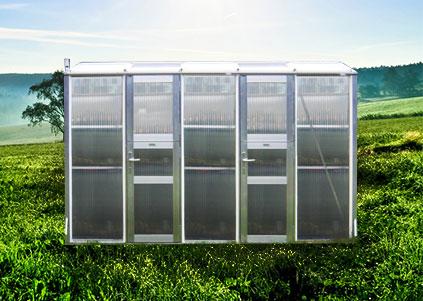 Gewächshaus, wama pflanzenhaus 1 Hochbeete, Home  - Stabil & Hochwertig
