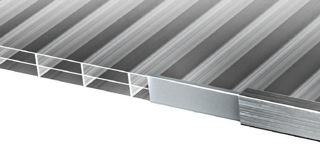 10mm Stegdreifach - Verglasungsarten