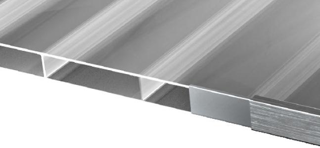 16mm doppelsteg - Verglasungsarten