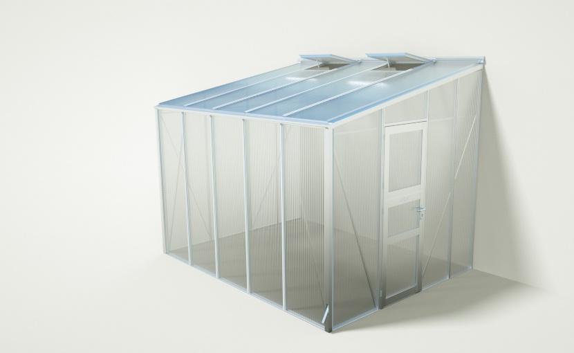 Gewächshaus, wama gewaechshaus anlehn b 50 Hochbeete, Gewächshaustypen  - Stabil & Hochwertig