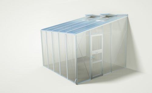 wama gewaechshaus anlehn c 50 500x307 - WAMA Anlehn-Gewächshaus AL C 50 – 10.10m²