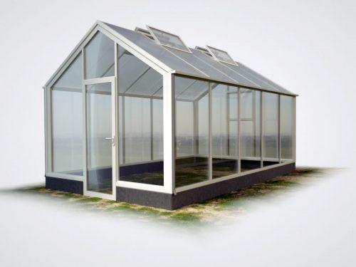 wama gewaechshaus thermo flora 25 mauer 500x375 - WAMA Mauer-Gewächshaus Flora 25 – 15.88m², 4 Fenster