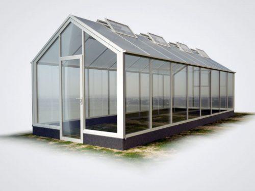 wama gewaechshaus thermo flora 28 mauer 500x375 - WAMA Mauer-Gewächshaus Flora 28 – 25.24m², 8 Fenster