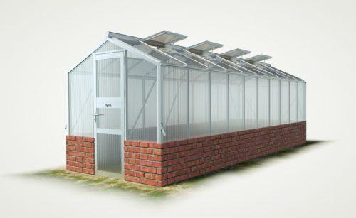 wama mauer gewaechshaus mini 100 500x307 - WAMA Mauer-Gewächshaus Mini 100 – 13.08m² (B: 208cm X L: 629cm)