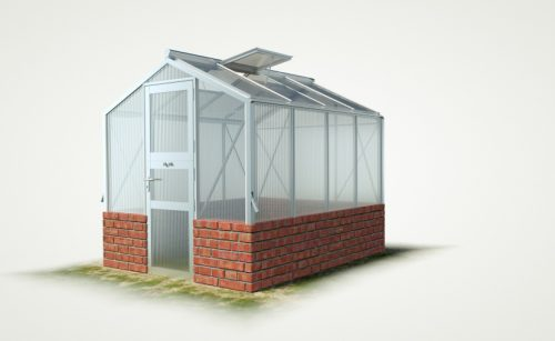 wama mauer gewaechshaus mini 40 500x307 - WAMA Mauer-Gewächshaus Mini 40 – 5.37m² (B: 208cm X L: 258cm)