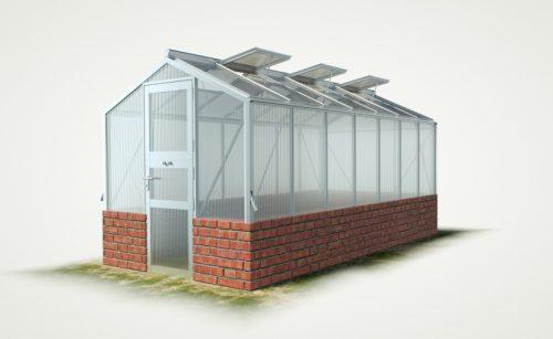 wama mauer gewaechshaus mini 70 500x307 - WAMA Mauer-Gewächshaus Mini 70 – 9.21m² (B: 208cm X L: 443cm)