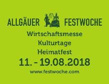logo festwoche subline 2 - Kempten: Allgäuer Festwoche