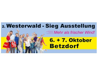 Westerwald Sieg Ausstellung Betzdorf rahmen - 57518 Betzdorf/Sieg: 2. Westerwald Sieg Ausstellung