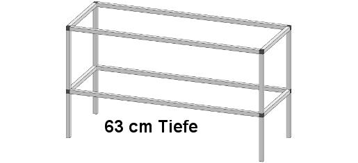 PT30602 1 - Pflanz- und Arbeitstisch <br> Länge: 163 cm