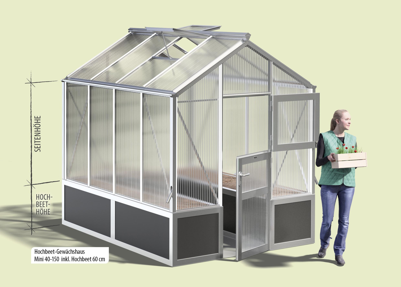 Etwas Neues genug Hochbeet Gewächshaus - die Vorteile | WAMA Direkt &BG_16