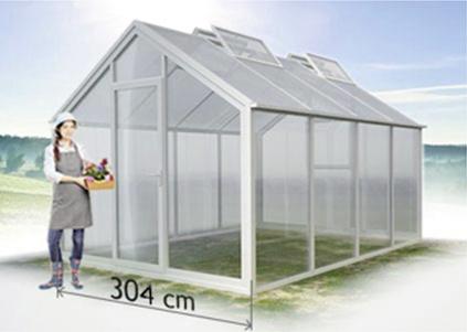 Flora Serie - Breite 267cm / 304cm