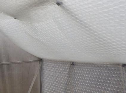 Thermosets und Luftpolsterfolie
